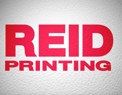 REID Printing video