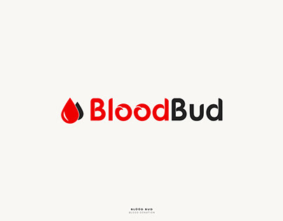 BloodBud - Logo Design