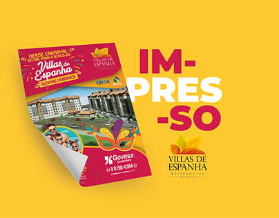 PANFLETO | VILLAS DE ESPANHA/GOVESA CONSTRUTORA