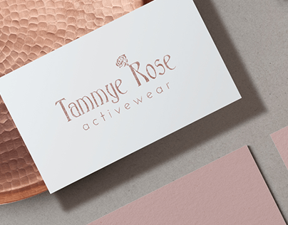 Logo and Mini Branding for an Active Wear Line