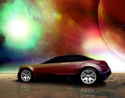 Acura Future Vehicle Microsite Backdrops