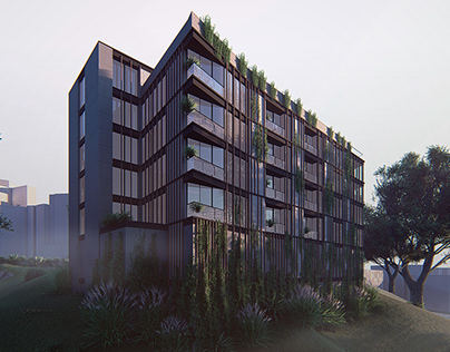QUZZAQ RESIDENTIAL BUILDING VISUALIZATION
