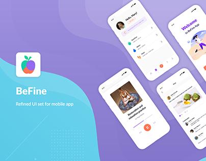 BeFine | iOS Application for Health