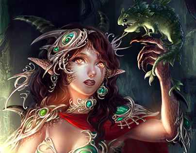 Dragon elf