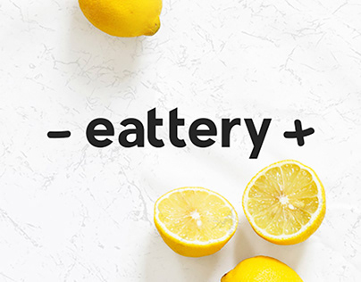Сеть питания Eattery – Branding