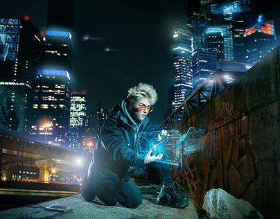 Сyberpunk Moscow City