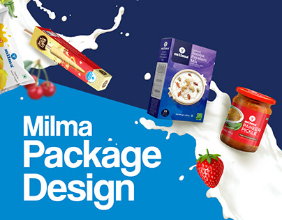 Milma Package Design