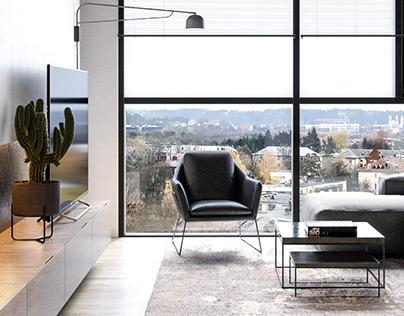63 sq. m. Interior