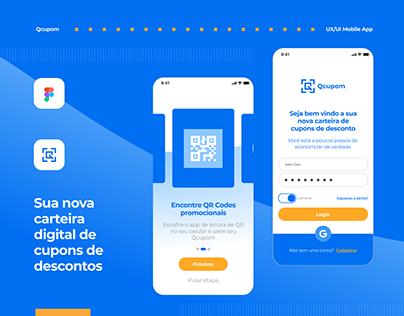 Mobile UI App - Qcupom