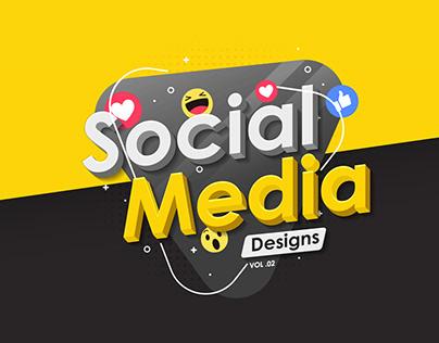 Social Media Designs | Vol 02
