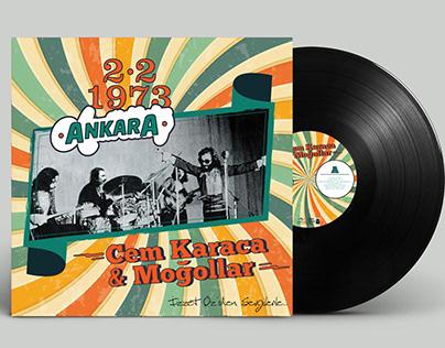 Cem Karaca & Moğollar Albüm tasarımı