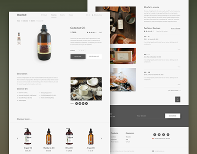 Body care Online Store
