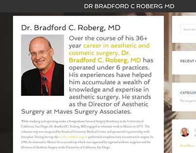 Dr. Bradford C. Roberg, MD's website