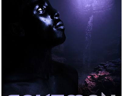 CAVEMAN (Imaginary movie poster)
