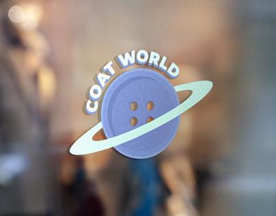 Branding for vintage online store, Coat World