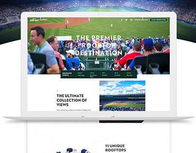 Wrigley Rooftops (Elevating Sports Ticketing) Web UI/UX