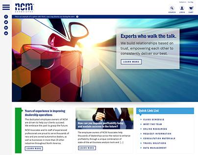 NCM Website Redesign Proposal