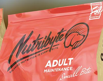 Nutribyte Premium Pet Food Branding