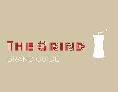 """Brand style guide for """"The Grind"""""""