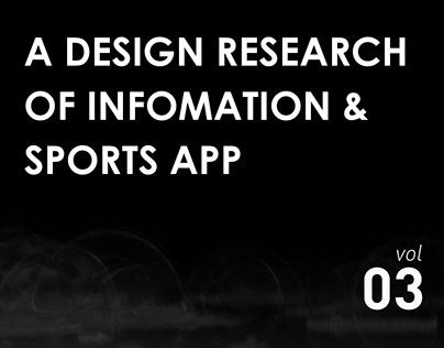 体育&资讯类app设计调研-DESIGN RESEARCH 3