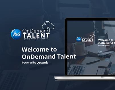 Form concept for OnDemand Talent
