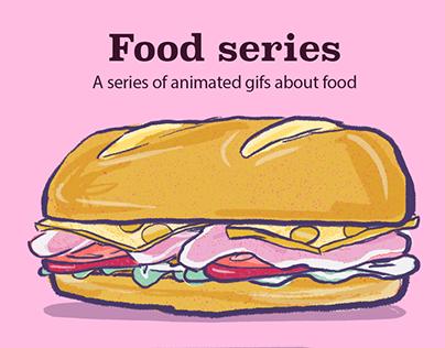 Animated gifs - food