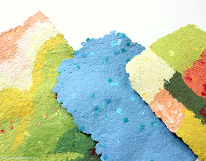 Recycled & Handmade Paper
