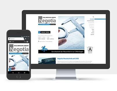 Webdesign- Negotia