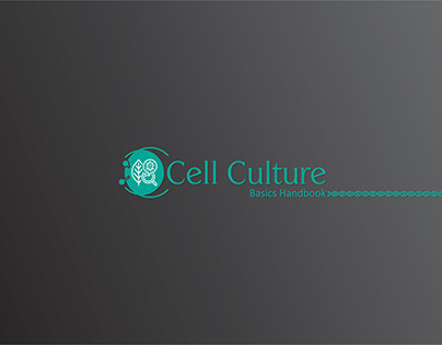 Cell Culture Logo and Booklet front back design