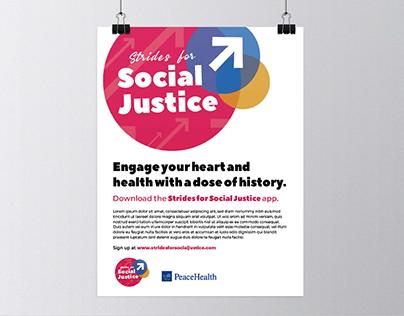 Strides For Social Justice Logo (SFSJ)
