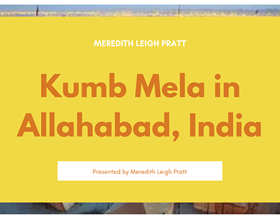 Meredith Leigh Pratt | Kumb Mela