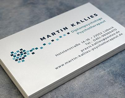 Martin Kallies - Diplompsychologe / Psychotherapeut