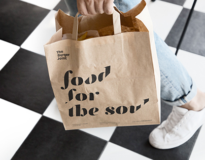 The Burger Joint / Brand Identity