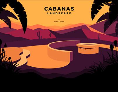 CABANAS LANDSCAPE