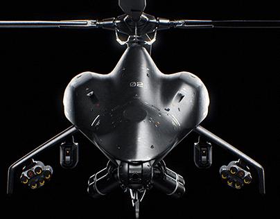 Stealth Drone Concept - Future UCAV