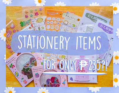 Stationery Items For Only ₱235