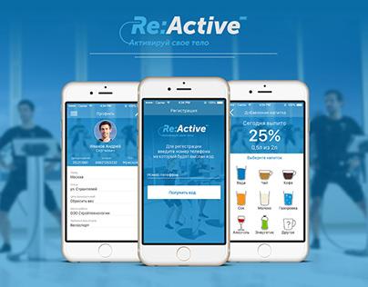 App for fitness center and sport || Ui UX design