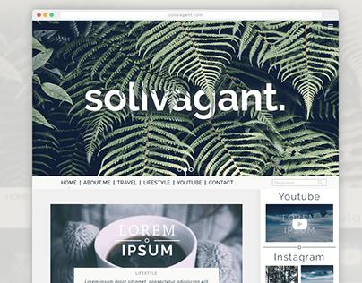 Solivagant. UI Design