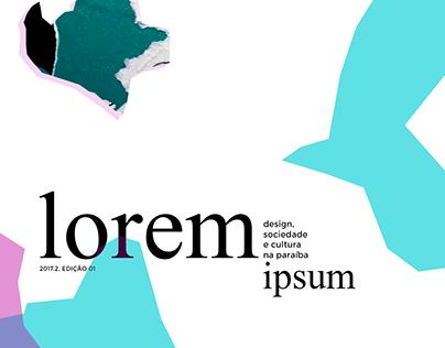 Editorial: lorem ipsum