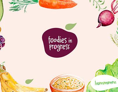 Identidade Foodies in Progress