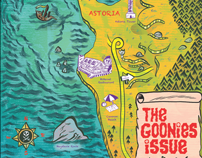 Willamette Week Goonies Issue Cover