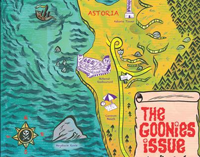 Willamette Week Goonies Issue Cover