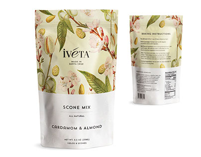IVETA Scone Mix Packaging