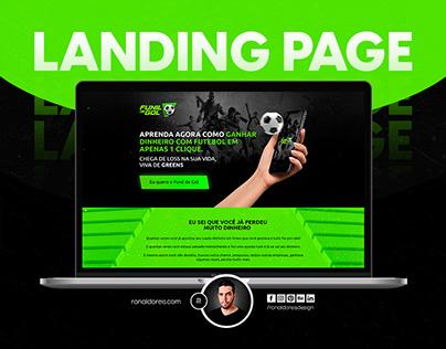 Landing Page - 2021 - Funil de Gol
