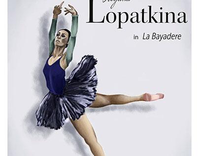 Ulyana Lopatkina Ballet Poster Concept