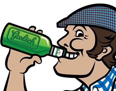 Uncle Riekus Logo Illustration