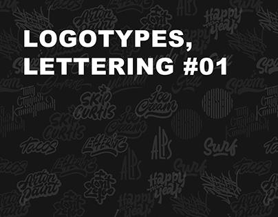 LOGOTYPES, LETTERING #01