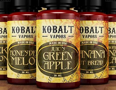 Kobalt Vapors Set of Labels