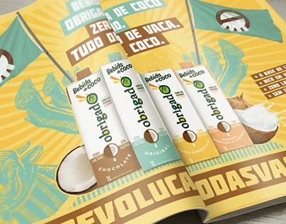 Revolução das Vacas - Bebida de Coco - Obrigado