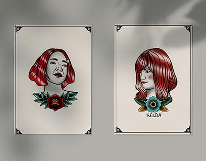 Illustrations: Selda Bağcan & Nazan Öncel
